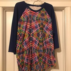 LuLaRoe 2xl Randy top